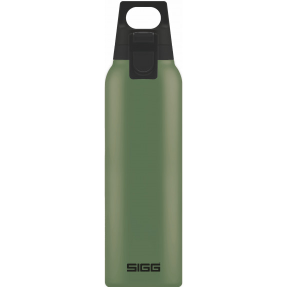 Bouteille isotherme Hot&Cold One vert olive 0,5 L