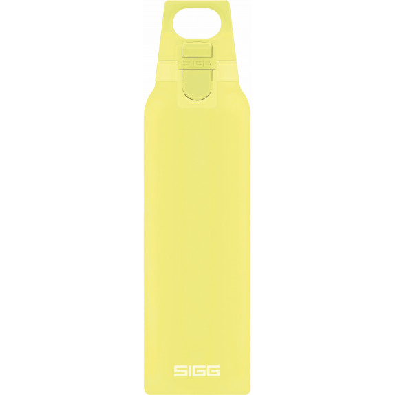 Bouteille isotherme Hot&Cold One jaune citron 0,5 L