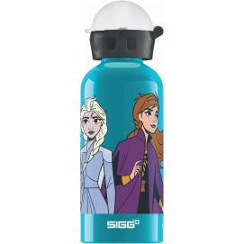 """Bouteille enfants """"La Reine des Neiges 2"""" Anna & Elsa 0,4 L"""