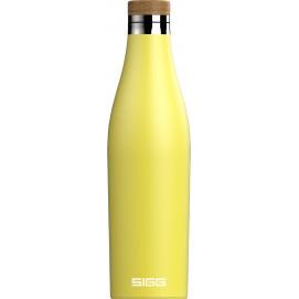 Bouteille isotherme Meridian jaune citron 0,5 L